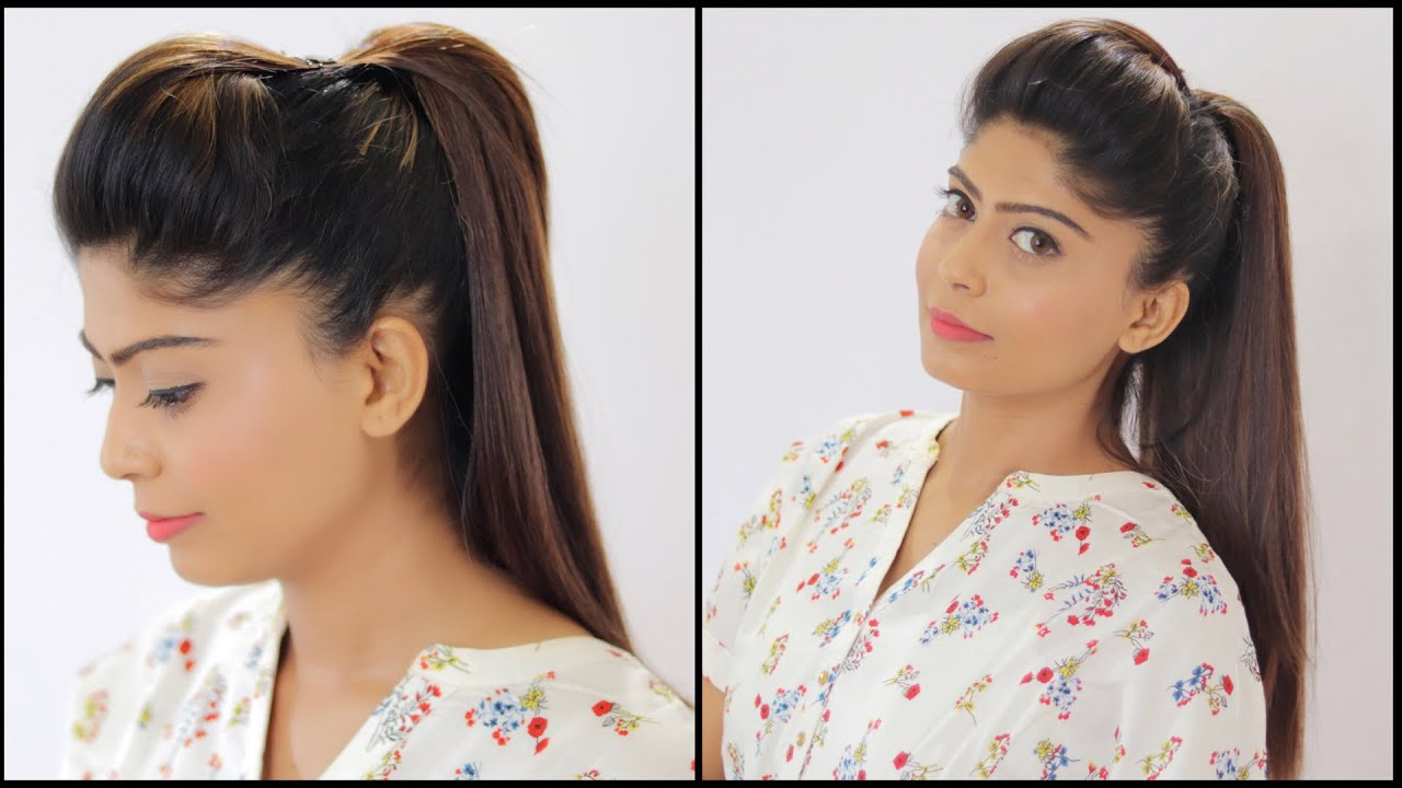 Perfect Ponytail Hairstyle Easy Ponytail Rinkal Soni