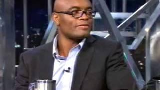 Anderson Silva no Jô Soares