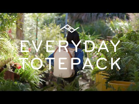 Everyday Totepack - Non-Humorous Feature Overview