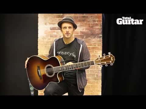 Me And My Guitar: Jason Mraz and his Taylor prototype