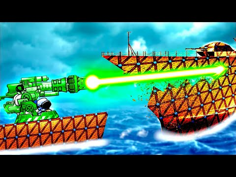 This Neutron Beam Is The Most POWERFUL Weapon Ever in Forts! |
