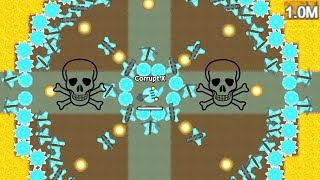 Doomed.io - Building a Giant Castle - The Strongest Diamond Base (1 Million Score)