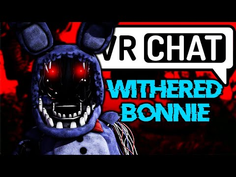 The voice of Withered Bonnie makes Fan FREAK OUT! (VRchat)