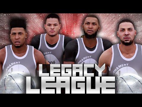 NBA 2K16 Legacy League #2 - 2012 Miami Heat! PRIME LEBRON IS AGGRESSIVE!
