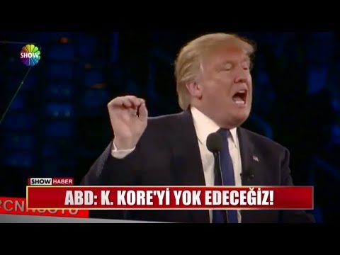 """ABD: """"K.Kore'yi yok edeceğiz!"""""""