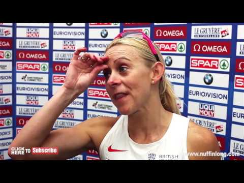 JENNY MEADOWS FAREWELL INTERVIEW AFTER 800m DEFEAT | European Athletics Championships 2016 |
