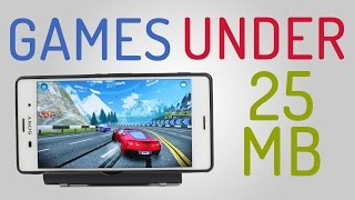 Best Small Size Android Games 2016 (Under 25mb) #1