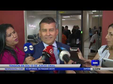 Tensión en día 13 de juicio oral a Ricardo Martinelli