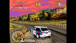 Sega Rally Championship Gameplay. | International Rally.(PC, with credits!)
