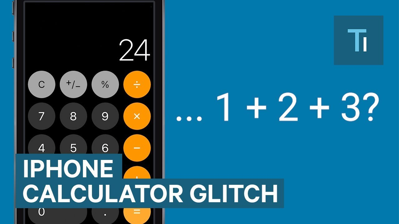 iPhone Calculator App Isn't Working Properly