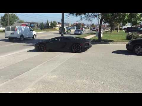 Lamborghini Aventador (Barrie Ontario)