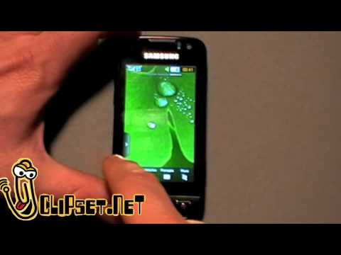 samsung S8000 jet hands on video review