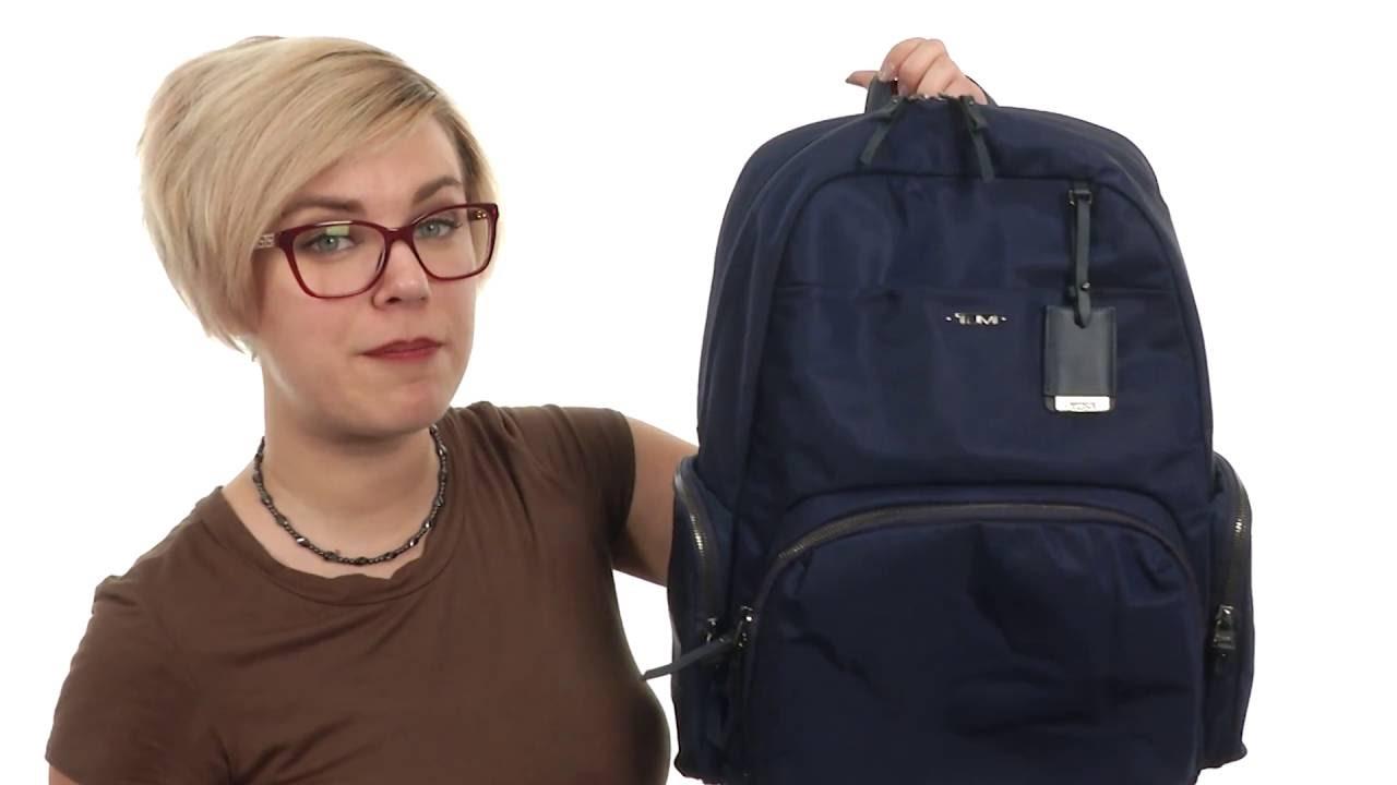 Tumi Tahoe Butler Backpack SKU: 8932290 - YouTube