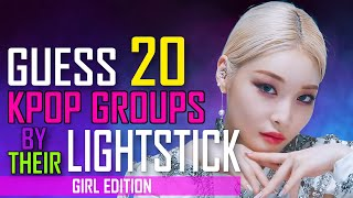 [KPOP GAME]  CAN YOU GUESS 20 KPOP GROUPS & SOLOIST BY THEIR LIGHTSTICK