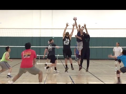 Open Gym Volleyball Highlights (part 1/2) - 4/14/16