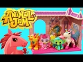 ANIMAL JAM Toys! Animal Jam Game Playsets, Dolls & Figurines Online Gaming Toys Tiger, Deer, Monkey