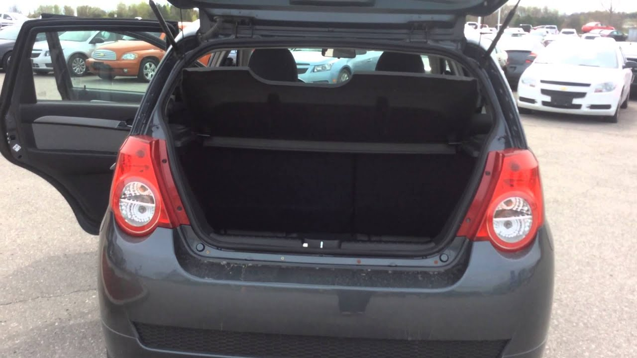 Used 2010 Chevrolet Aveo 5dr Lt For At Boyer Lindsay Review