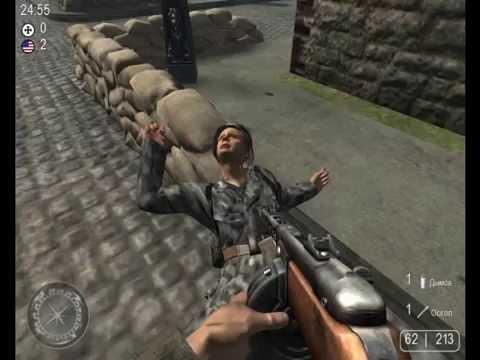 фильм из фото из игры Call of Duty 2