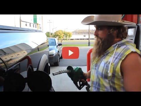 #DieselDave hates when gassers park in front of the diesel pump!