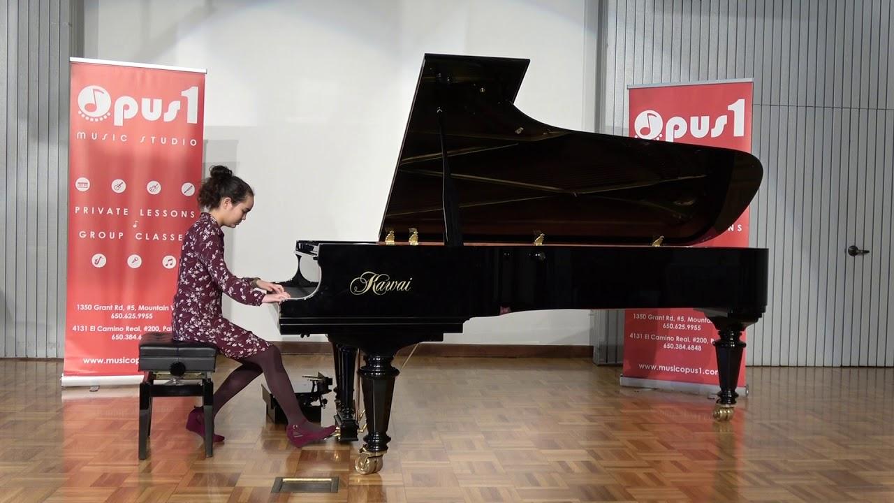 2019 Opus 1 Music Studio Spring Recital - Mehana Ellis , Piano