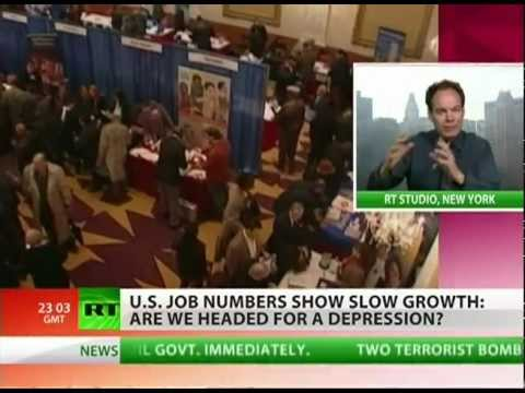 Max Keiser: Unemployment numbers are 'propaganda'