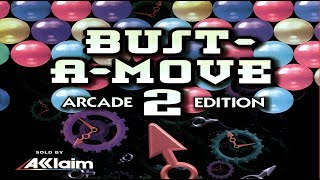TAP (N64) Bust-A-Move 2: Arcade Edition - Puzzle All Rounds in order A-Z+? [Hard] 1/2