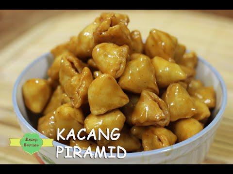 Makanan Ringan Enak Kacang Piramid Cemilan Youtube