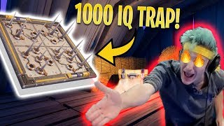 NINJA VS 1000 IQ Trap Troll *FUNNY* | Fortnite Funny Clips & WTF Moments #3