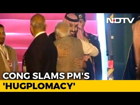 """Would You Show Courage... ?"" Congress Taunts PM As Saudi Prince Visits"