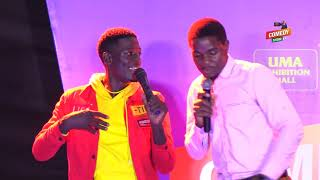 Alex Muhangi Comedy Store April 2019 - MAULANA & REIGN (Ugandan Music)