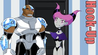 Cartoon Hook-Ups: Cyborg and Jinx