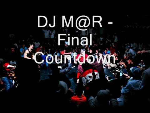 DJ M@R  - Final Countdown