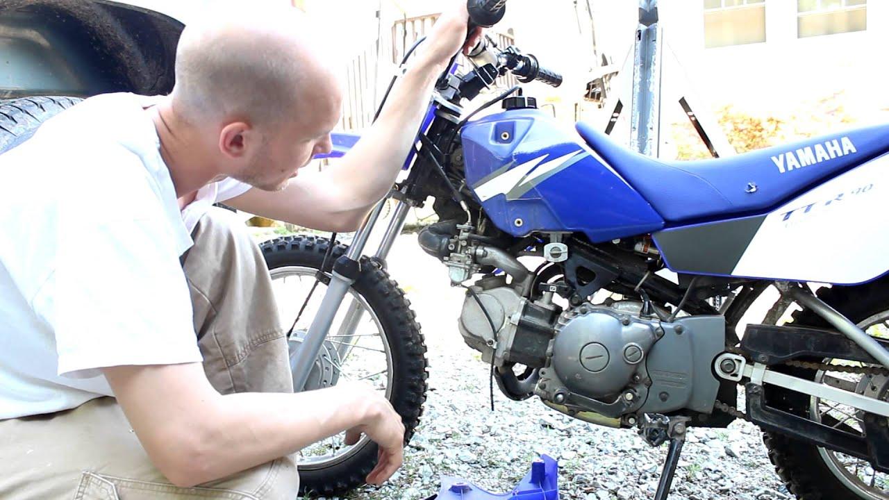 Yamaha TTR90 Carb rejet carburetor re-jet clean High performance mod