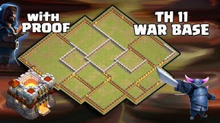 Th11 War Base 2017 Anti 1 Star/Anti 2 Star With Replay Anti Valkyrie 6 Anti GoBoWi Anti BoWitch