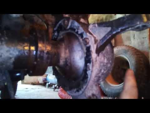 Ремонт поворотного кулака УАЗ часть 1.
