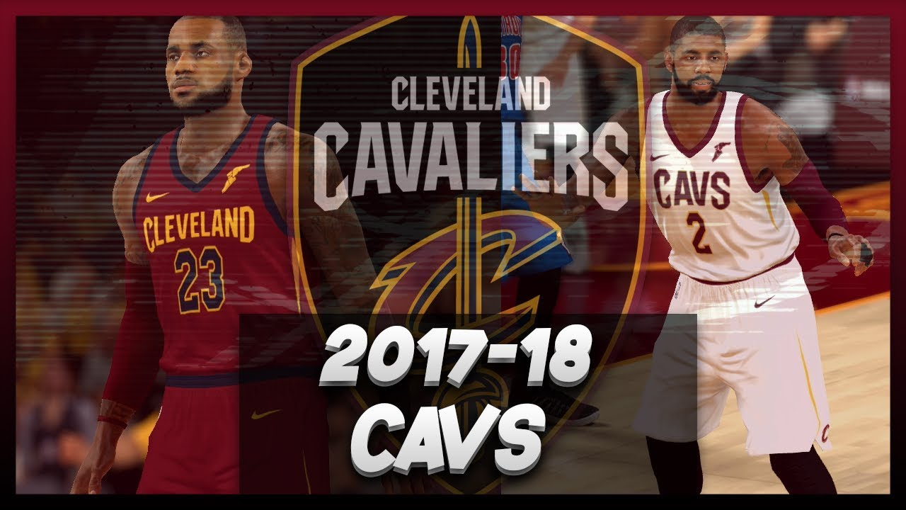 705aeaefb NBA 2K17 2017-18 Cleveland Cavaliers Official Nike Jersey Tutorial ...