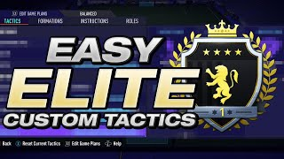 THESE TACTICS MADE HITTING ELITE 1 EASY! FIFA 21 BEST TACTICS / FORMATION 532 + 442 + 4321 TOP 200