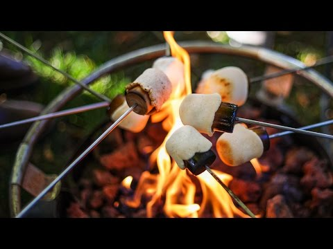 The crispiest, yummiest campfire treats.