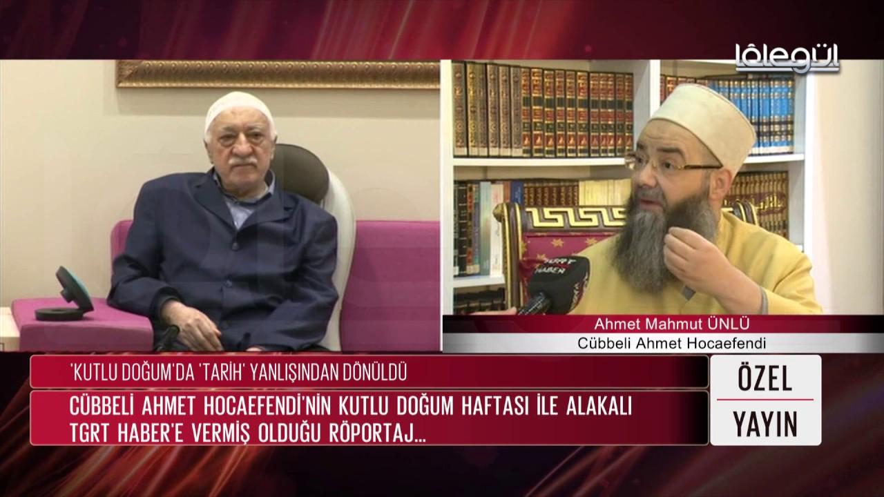 TGRT Özel Yayın - Cübbeli Ahmet Hocaefendi Lâlegül TV