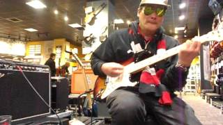 """Testing Out & Playing The USA Fender VG Strat W/ Roland Modeling At G.C."" April 20, 2016 - Big Will"