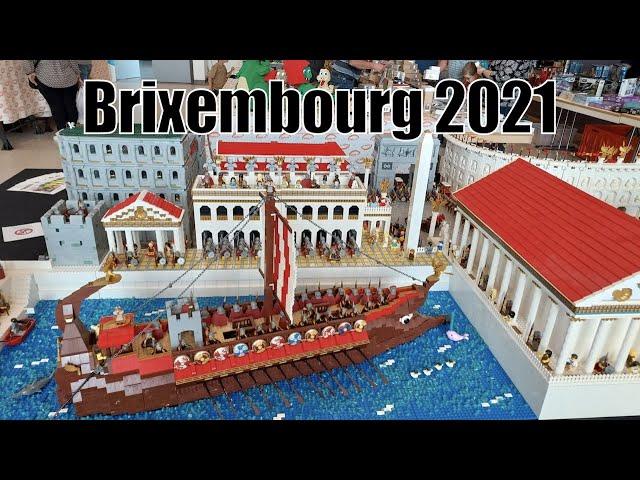 Auf der Brixembourg 2021 in Luxemburg l Tolle Mocs und Lego Star Wars Minifiguren gekauft