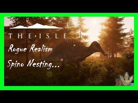 The Isle | Spinosaurus Nesting! | Rogue Realism