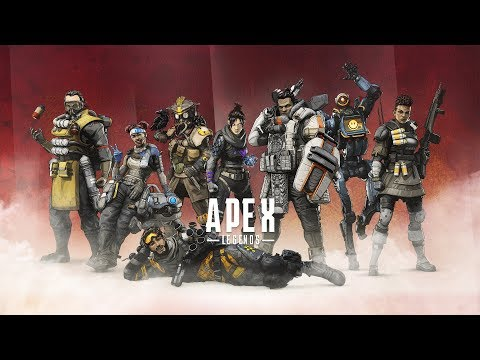 GOLD LEAGUE RANKED PLAY, AGAIN... | Apex Legends Live Stream 2 - Lets Play, Gameplay