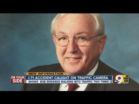 I-71 accident involving Bob Edwards caught on camera