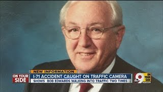 I-71 accident involving Bob Edwards caught on camera