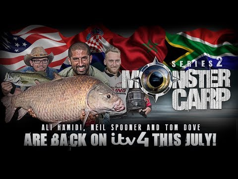 MONSTER CARP SERIES 2 - STARTS 4th JULY ITV4