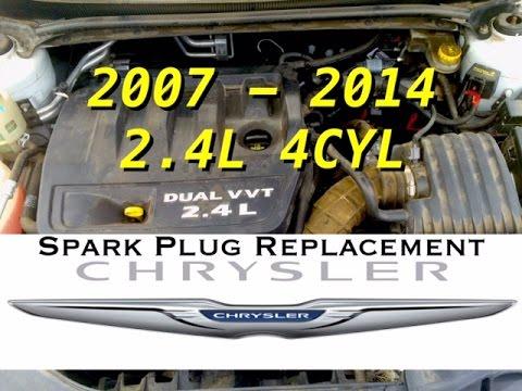 DIY: 24L Spark Plugs Removal 4 cyl  200 Sebring Avenger