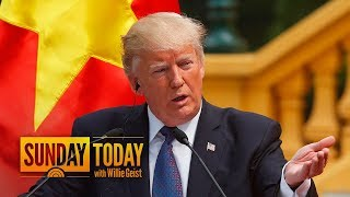 President Trump Taunts Kim Jong Un: 'I Would NEVER Call Him 'Short And Fat''   Sunday TODAY