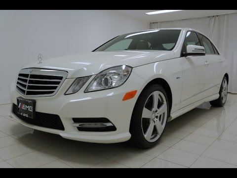 2012 mercedes benz e class e350 sport 4matic youtube. Black Bedroom Furniture Sets. Home Design Ideas