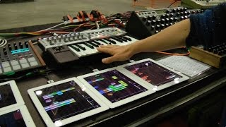 Orbital Shows Off Their Synths & Other Onstage Gear at Moogfest